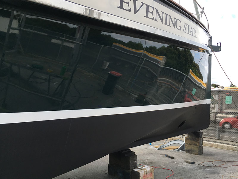 Marine Reflections are boat painting specialists