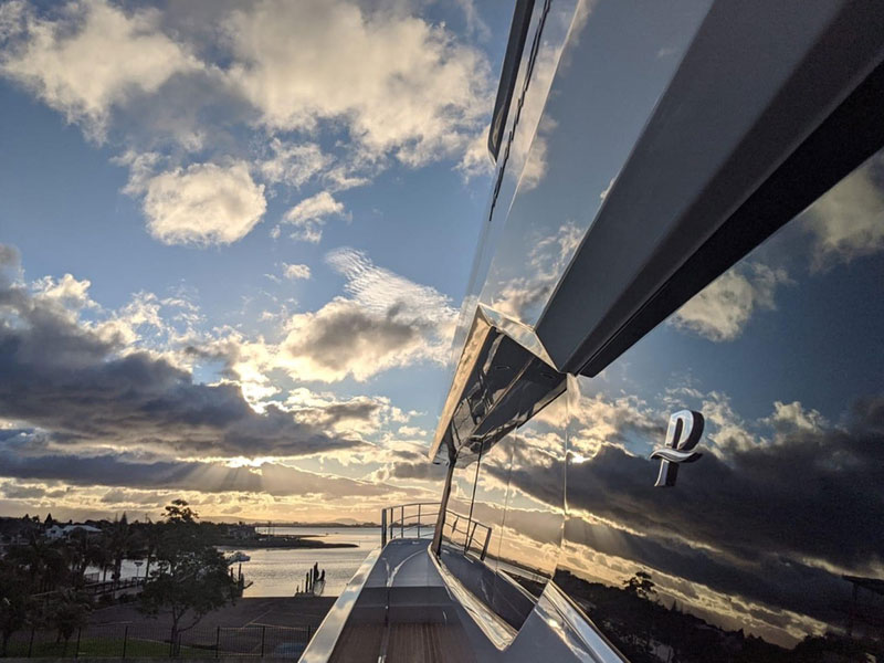 Marine Reflections super-yacht finish for marine painting